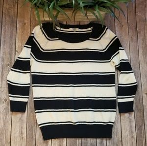 🎉Madewell Bridgeview Pullover Striped Sweater🎉